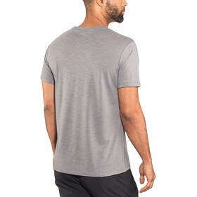 Millet M's Akna Wool Short Sleeve Shirt smoked pearl